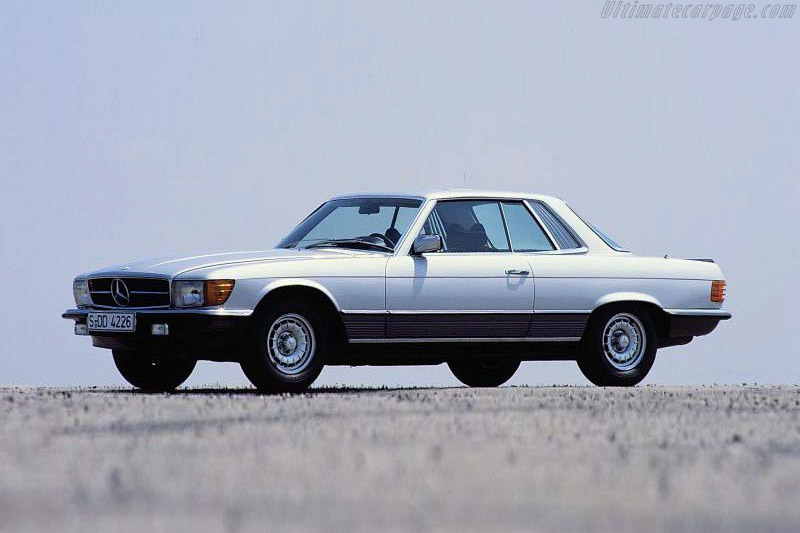 Click here to open the Mercedes-Benz 350 SLC gallery