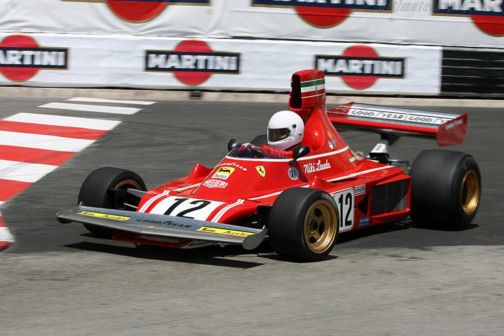 Ferrari 312 B3/74 - Chassis: 010   - 2006 Monaco Historic Grand Prix