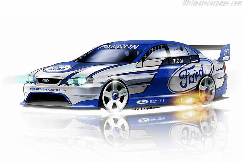 Ford BA Falcon V8 Supercar