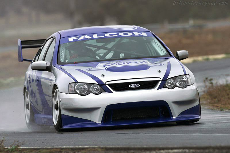 Click here to open the Ford BA Falcon V8 Supercar gallery