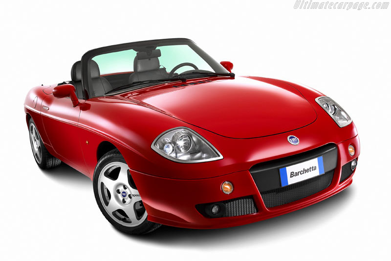 Click here to open the Fiat Barchetta gallery