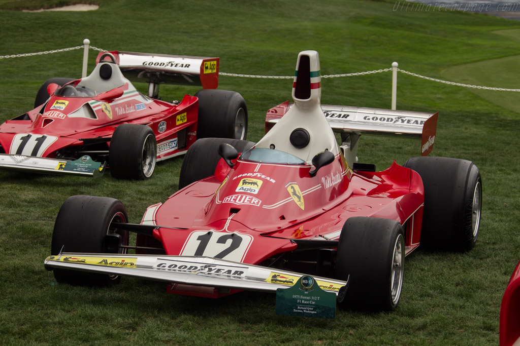 Ferrari 312 T - Chassis: 022   - 2017 Pebble Beach Concours d'Elegance