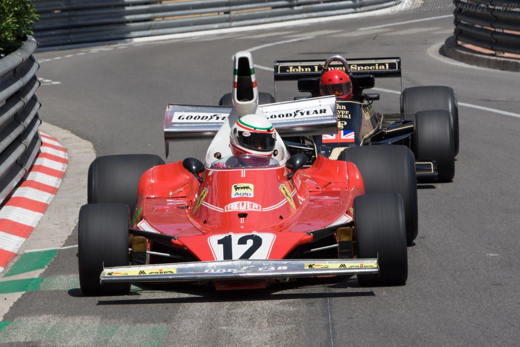 Ferrari 312 T - Chassis: 021   - 2008 Monaco Historic Grand Prix