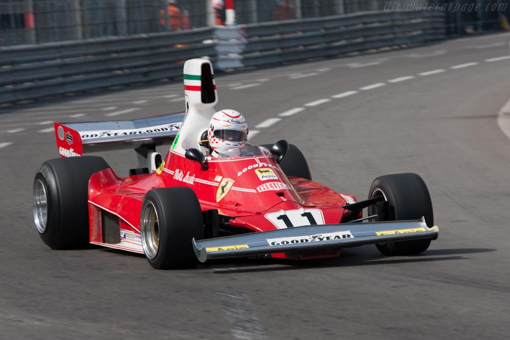 Ferrari 312 T - Chassis: 018   - 2012 Monaco Historic Grand Prix