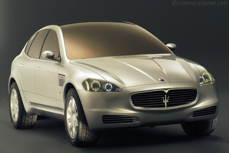 Click here to open the Maserati Kubang GT Wagon gallery