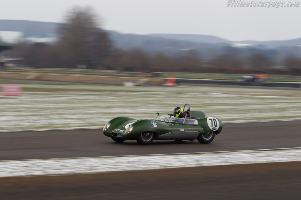 Lotus 15 Climax - Chassis: 603 - Driver: Ben Mitchell  - 2018 Goodwood Members' Meeting