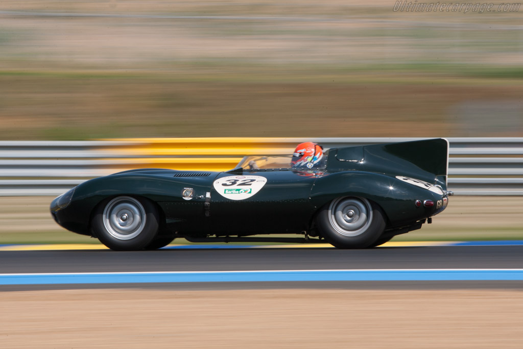 Jaguar D-Type Works Long Nose - Chassis: XKD 505   - 2010 Le Mans Classic