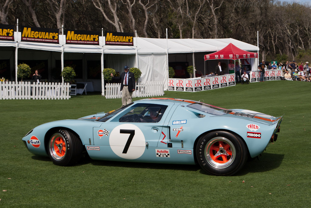 Ford GT40 Mk I Gulf - Chassis: GT40P/1076  - 2009 Amelia Island Concours d'Elegance