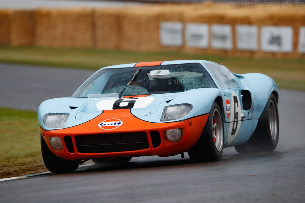 Ford GT40 Mk I Gulf - Chassis: GT40P/1075  - 2019 Goodwood Festival of Speed