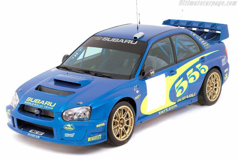 Click here to open the Subaru Impreza WRC 2003 gallery