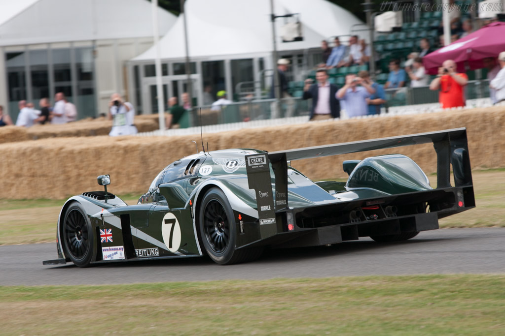 Bentley Speed 8 - Chassis: 004/5   - 2009 Goodwood Festival of Speed