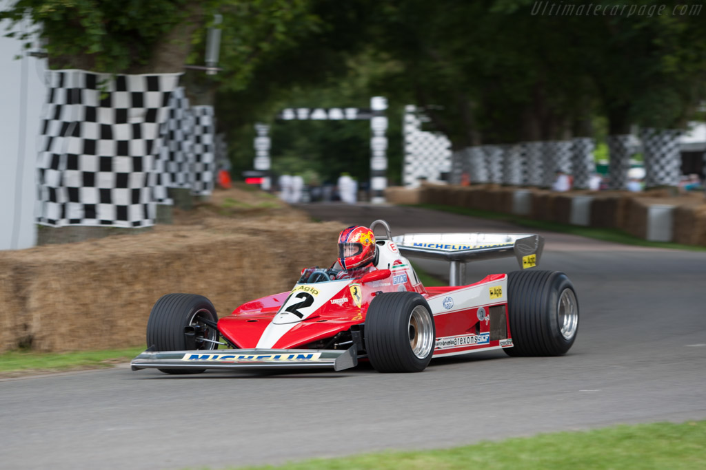 Ferrari 312 T3 - Chassis: 034   - 2012 Goodwood Festival of Speed