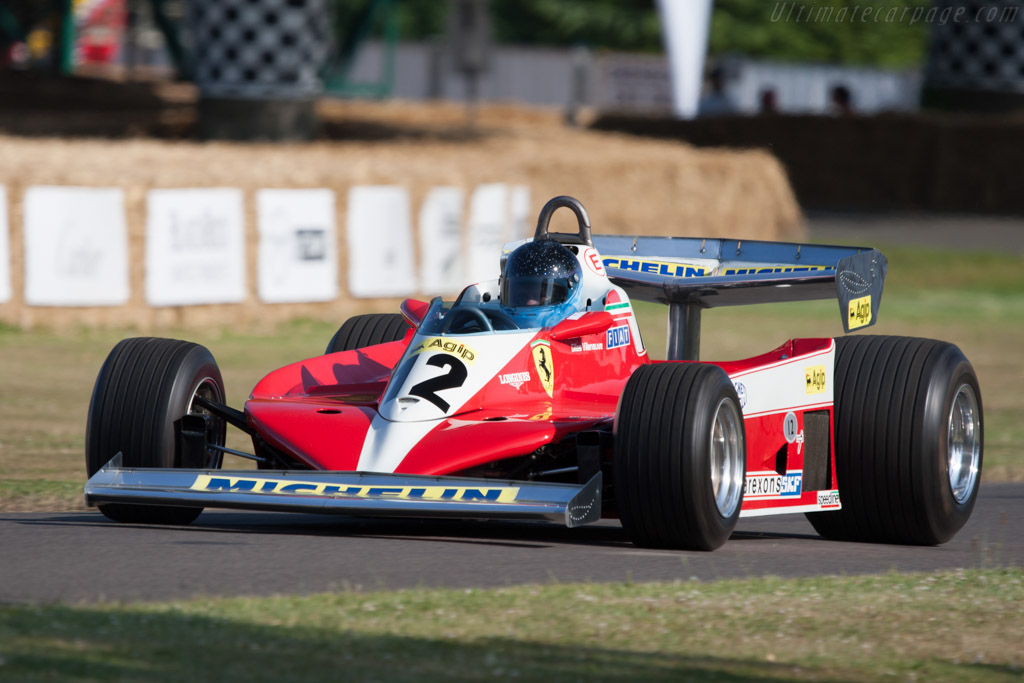 Ferrari 312 T3 - Chassis: 034   - 2009 Goodwood Festival of Speed