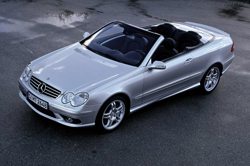 Click here to open the Mercedes-Benz CLK 55 AMG Cabriolet gallery