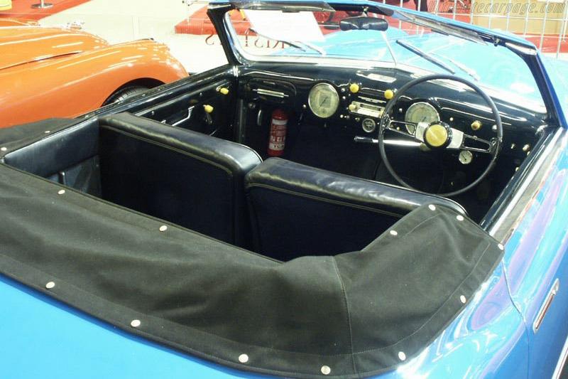 Alfa Romeo 6C 2500 SS Pinin Farina Cabriolet - Chassis: 915716   - 2003 Retromobile