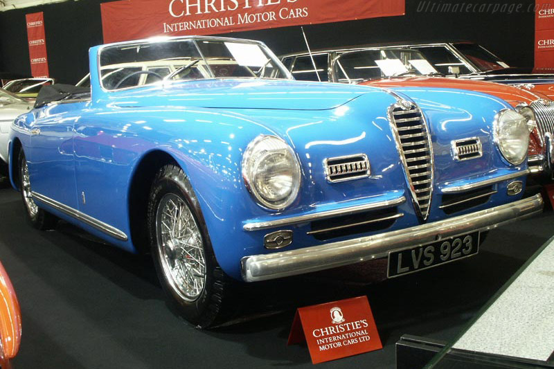Click here to open the Alfa Romeo 6C 2500 SS Pinin Farina Cabriolet gallery
