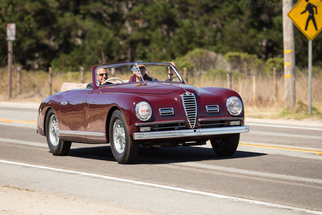 Alfa Romeo 6C 2500 SS Pinin Farina Cabriolet - Chassis: 915922   - 2015 Pebble Beach Concours d'Elegance