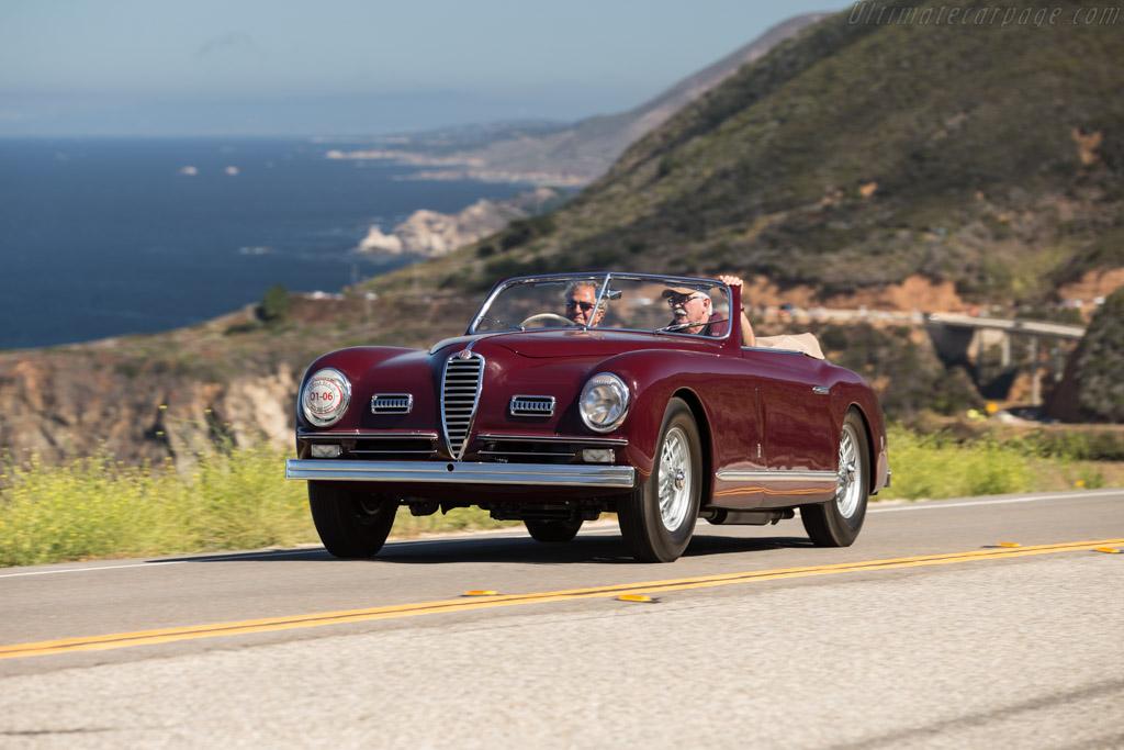 Alfa Romeo 6C 2500 SS Pinin Farina Cabriolet - Chassis: 915922   - 2015 Pebble Beach Concours d'Elegance