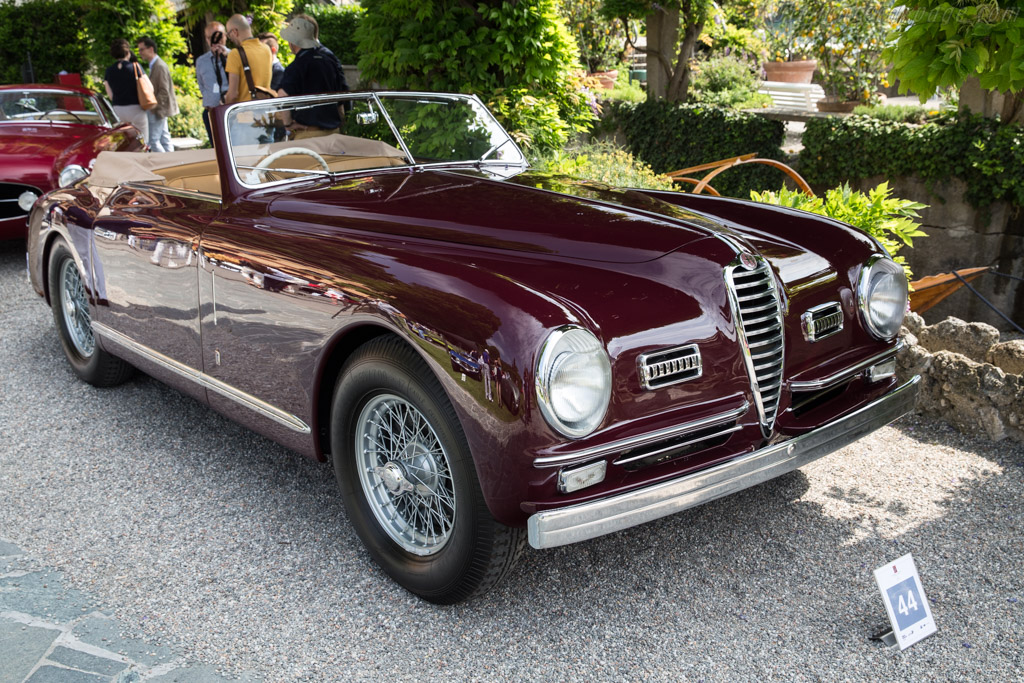 Alfa Romeo 6C 2500 SS Pinin Farina Cabriolet - Chassis: 915922   - 2017 Concorso d'Eleganza Villa d'Este
