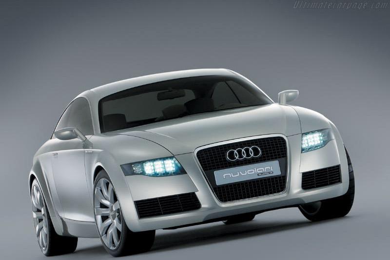 2003 Audi Nuvolari Quattro Concept Images Specifications And