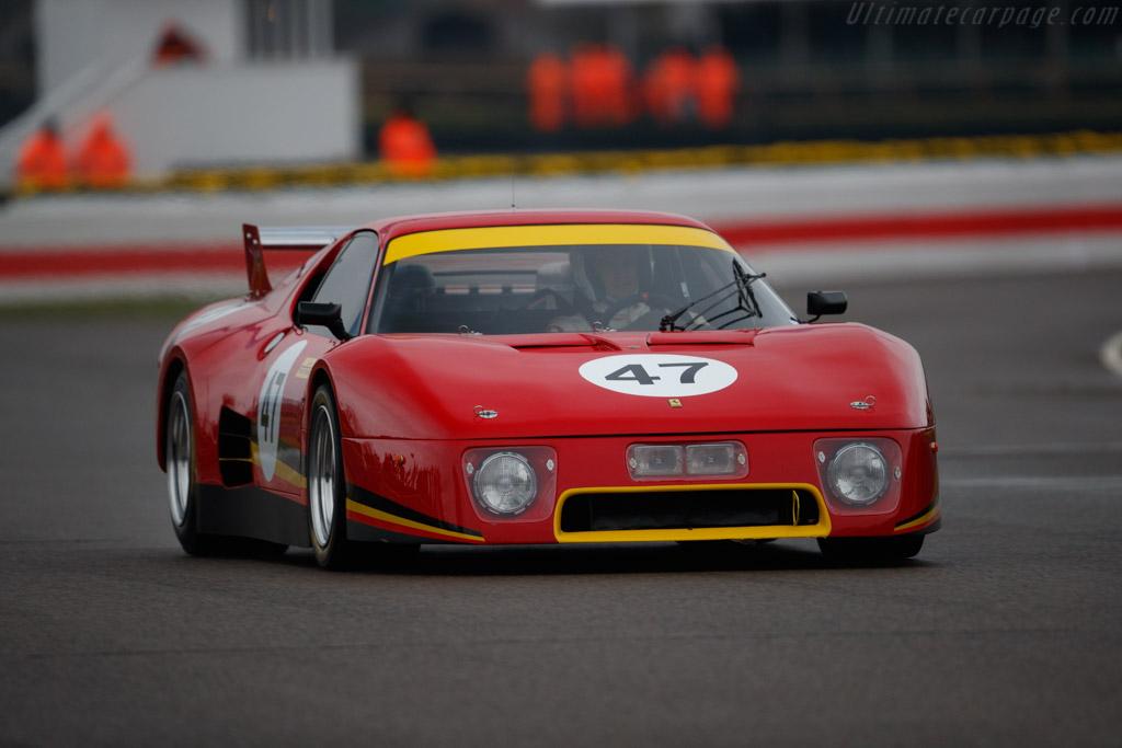 Ferrari 512 BB LM - Chassis: 44023 - Driver: Jeremy Lancksweert  - 2018 Goodwood Members' Meeting