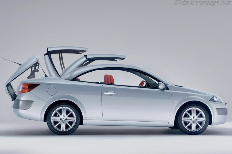 Renault Mégane II Coupe-Cabriolet