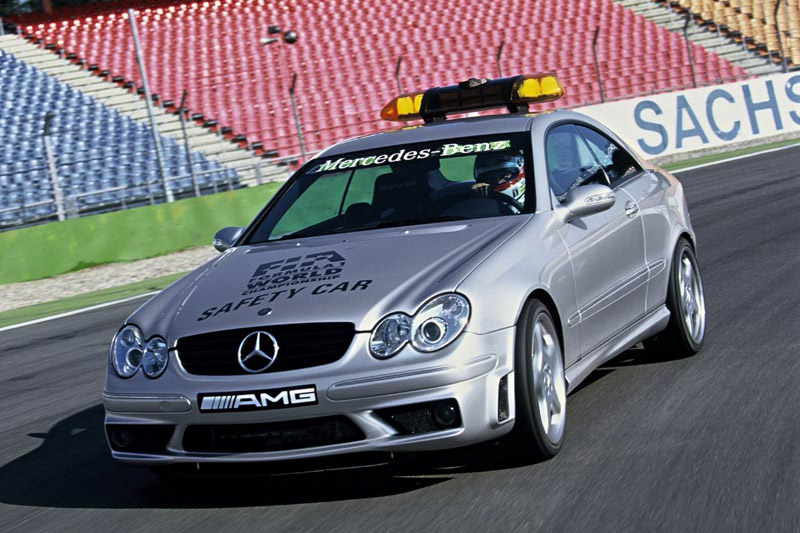 Click here to open the Mercedes-Benz CLK 55 AMG Safety Car gallery