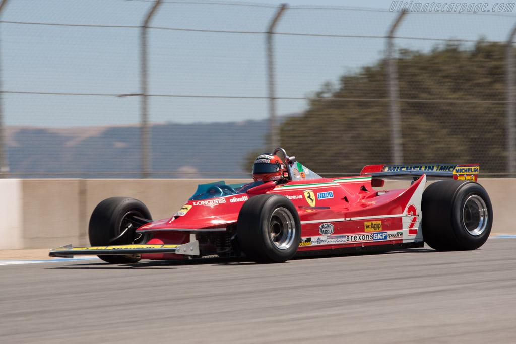 Ferrari 312 T5 - Chassis: 046   - 2011 Monterey Motorsports Reunion