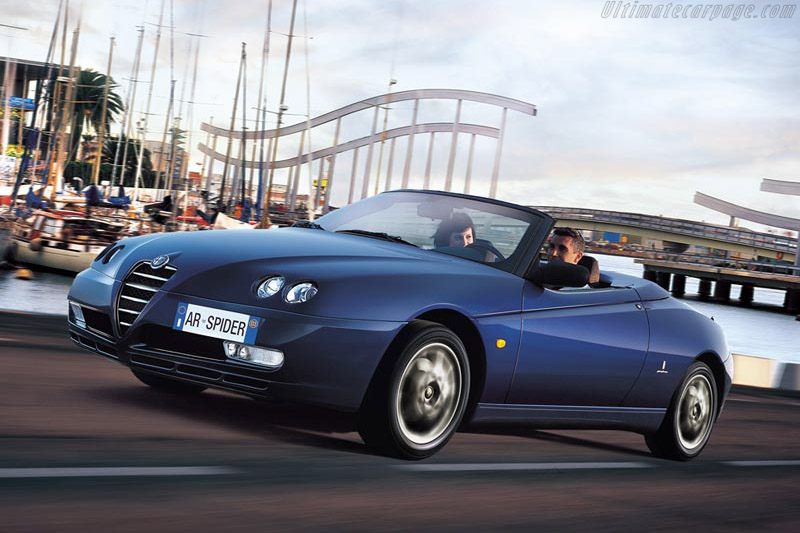 Click here to open the Alfa Romeo Spider 2.0 JTS gallery