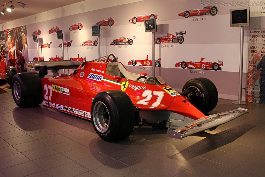 Click here to open the Ferrari 126 CK gallery