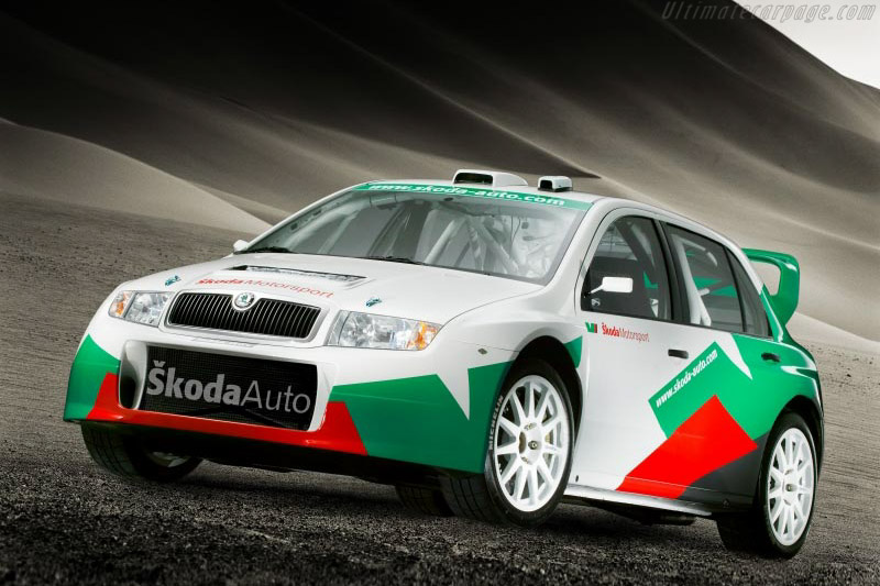 Click here to open the Skoda Fabia WRC gallery