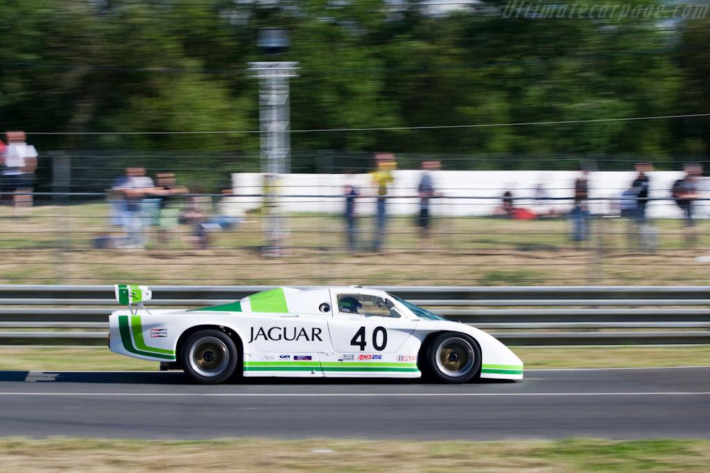 Jaguar XJR-5 - Chassis: XJR-5/006  - 2008 24 Hours of Le Mans