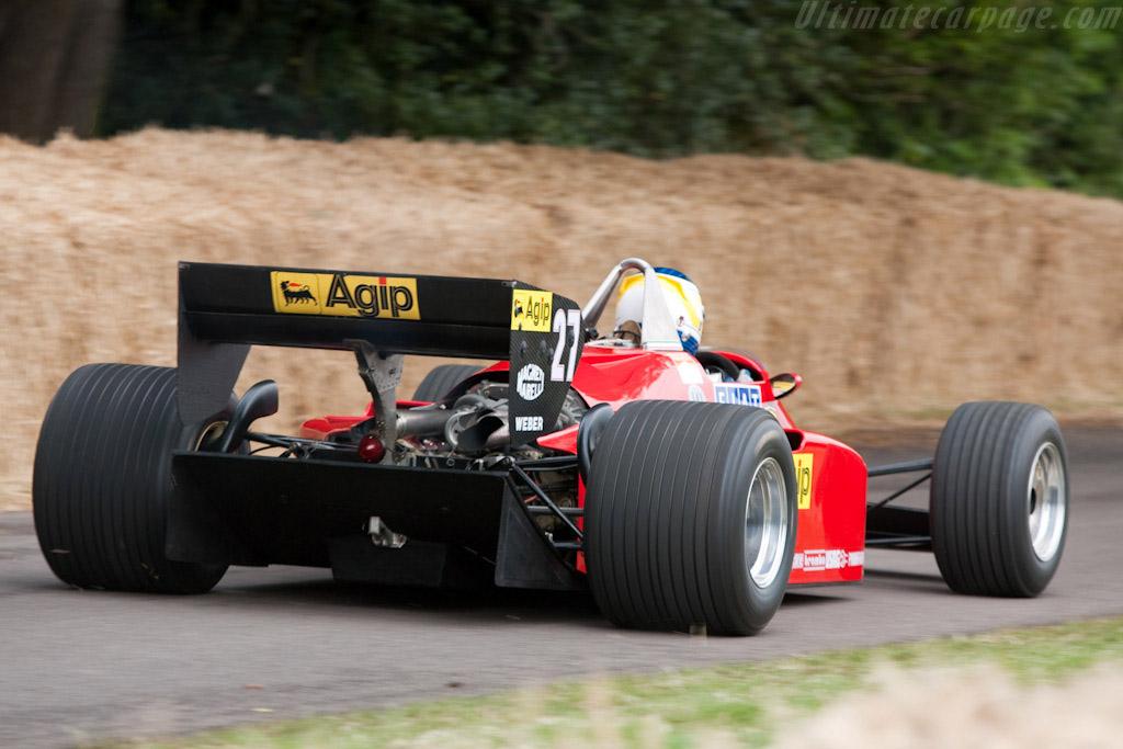 Ferrari 126 C4 - Chassis: 072   - 2009 Goodwood Festival of Speed