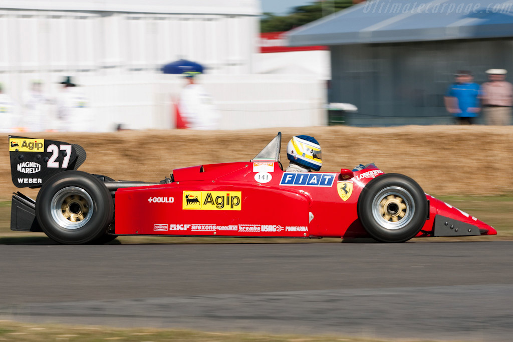 Ferrari 126 C4 - Chassis: 072   - 2009 Goodwood Festival of Speed