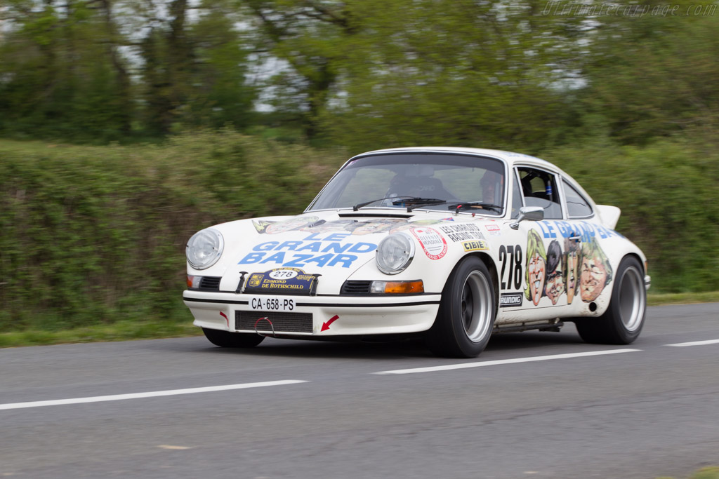 Porsche 911 Carrera Rsr 2 8 Chassis 911 360 0960 2013 Tour Auto
