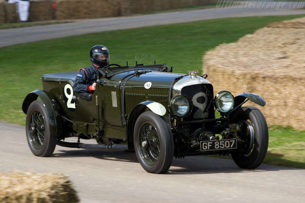 Bentley Speed Six Works Team Car - Chassis: HM2868   - 2008 Goodwood Festival of Speed