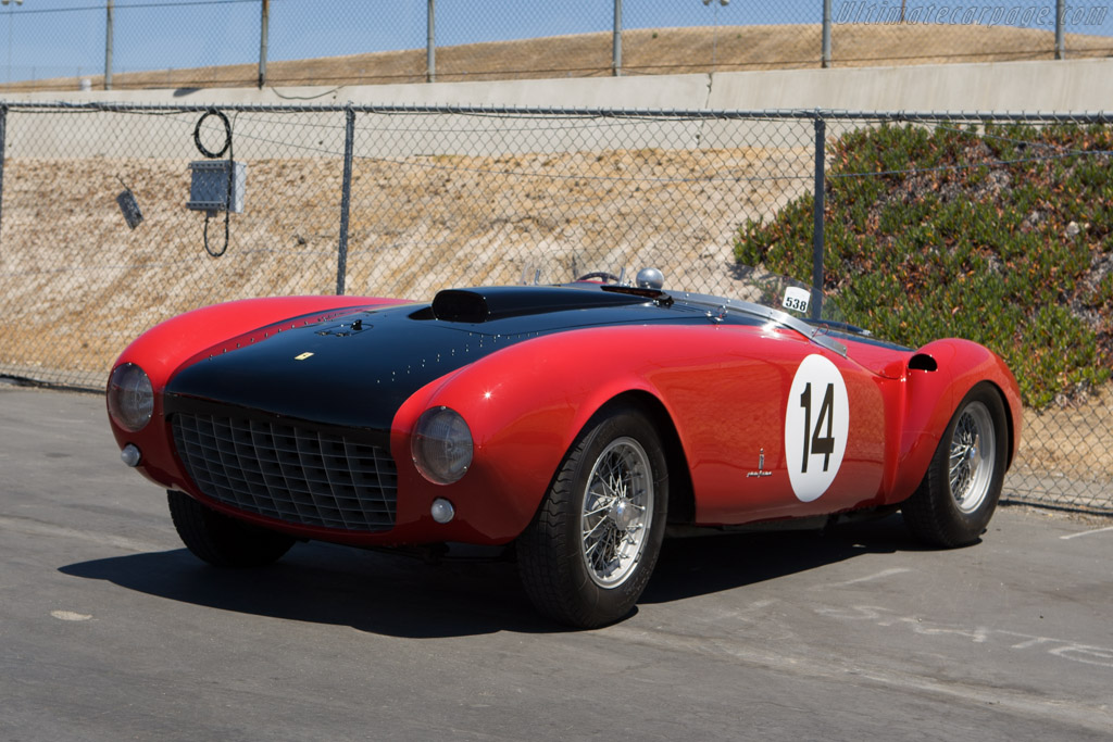 Ferrari 375 MM Pinin Farina Spyder - Chassis: 0374AM   - 2008 Monterey Historic Automobile Races