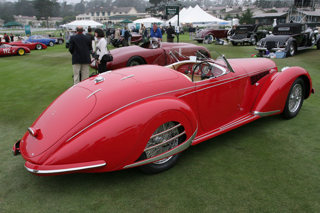 Alfa Romeo 8C 2900B Lungo Touring Spider - Chassis: 412026   - 2005 Pebble Beach Concours d'Elegance