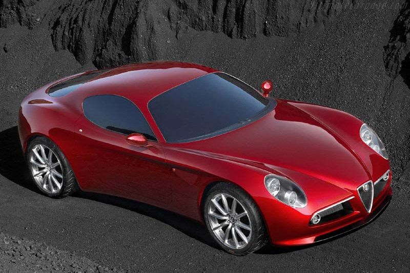 Click here to open the Alfa Romeo 8C Competizione Concept gallery