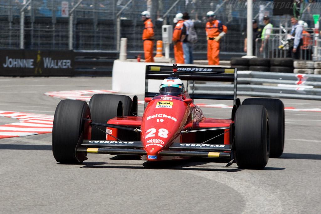 Ferrari F1-87 - Chassis: 097   - 2008 Monaco Historic Grand Prix