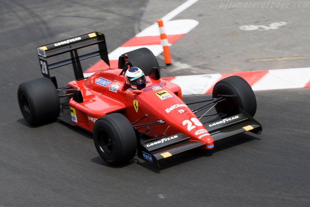 Ferrari F1/87 - Chassis: 097   - 2008 Monaco Historic Grand Prix