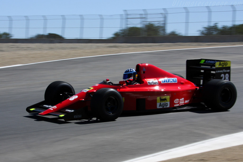Ferrari 640 F1 - Chassis: 113  - 2008 Monterey Historic Automobile Races