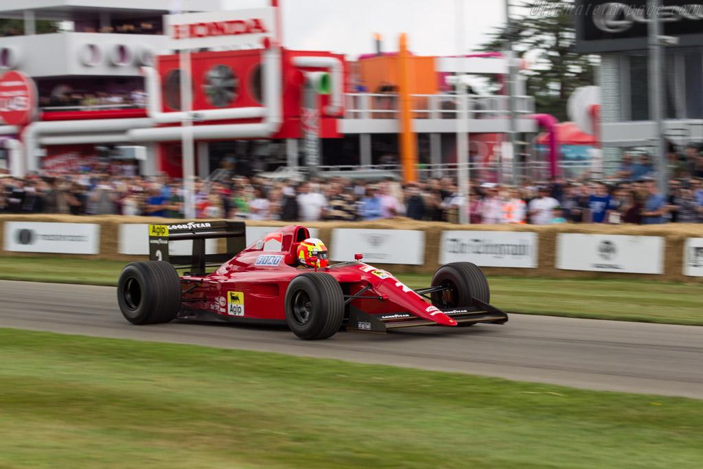 Ferrari 641 F1 - Chassis: 120 - Driver: Olivier Beretta  - 2017 Goodwood Festival of Speed