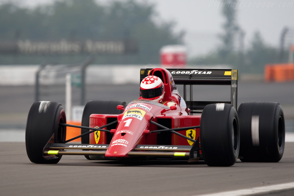 1990 Ferrari 641 F1 Images Specifications And Information