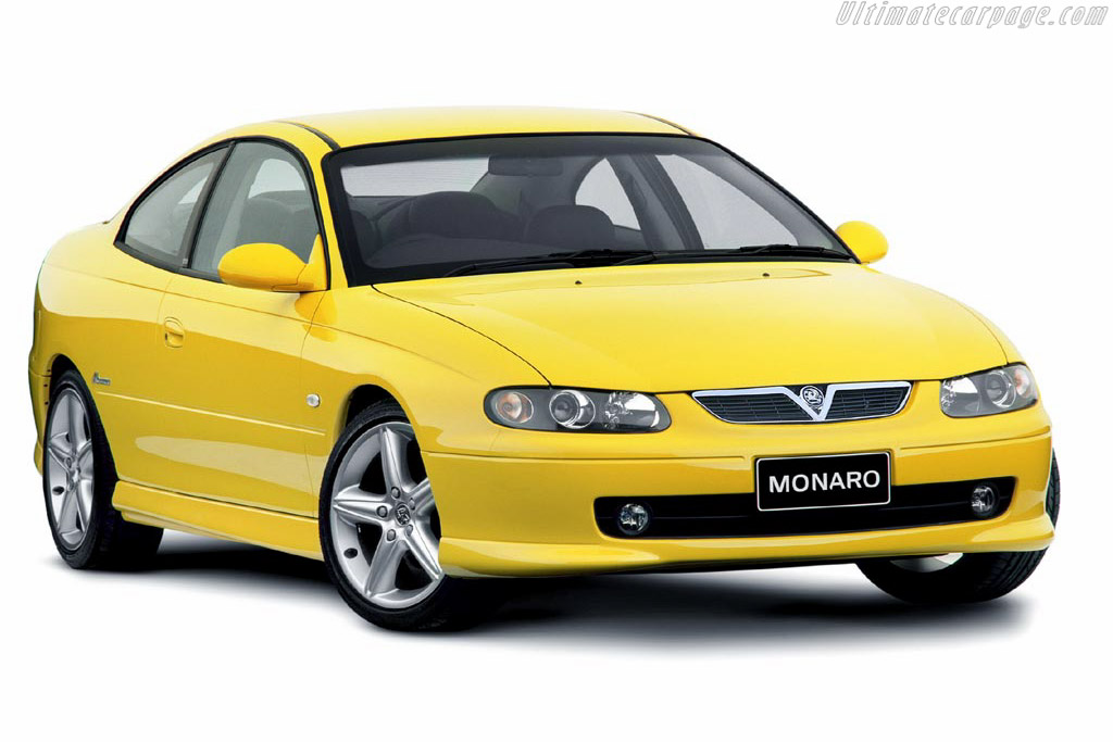 Click here to open the Vauxhall Monaro gallery