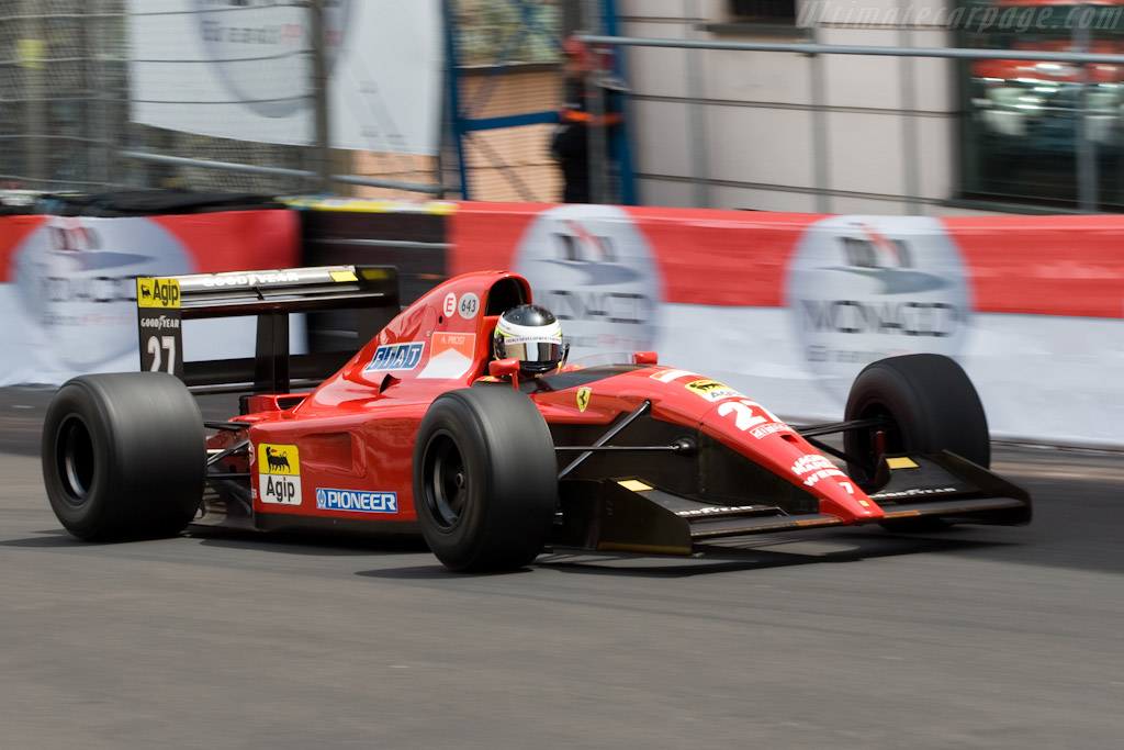 Click here to open the Ferrari 643 F1 gallery