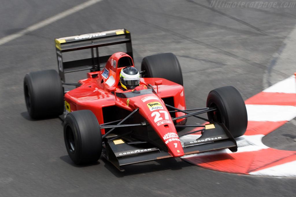 Ferrari 643 F1 - Chassis: 128   - 2008 Monaco Historic Grand Prix