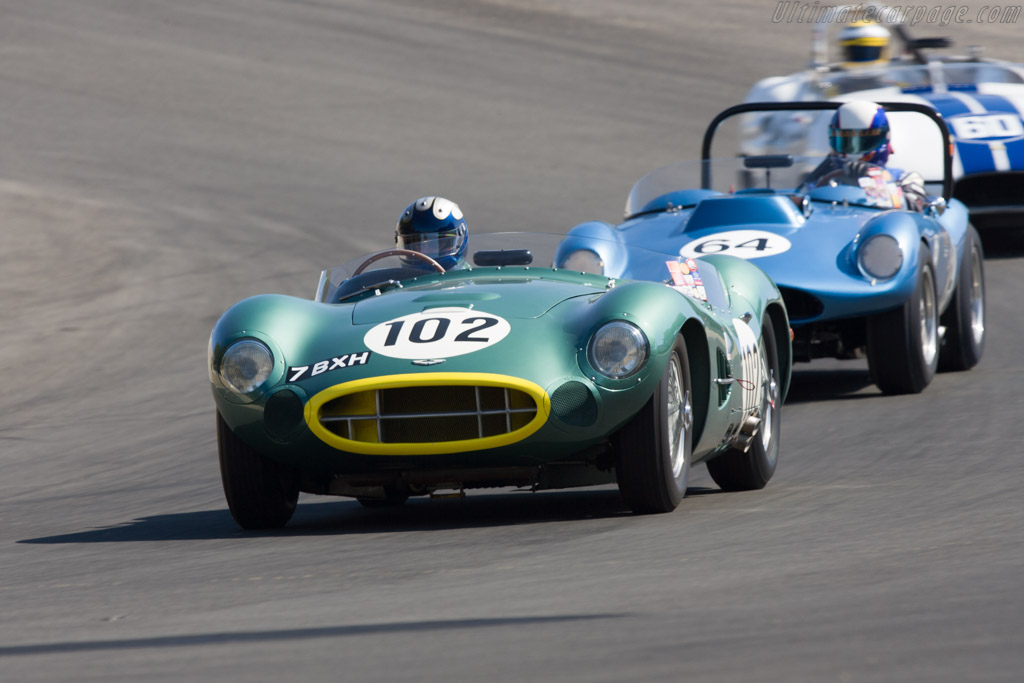 Aston Martin DBR2 - Chassis: DBR2/2   - 2008 Monterey Historic Automobile Races