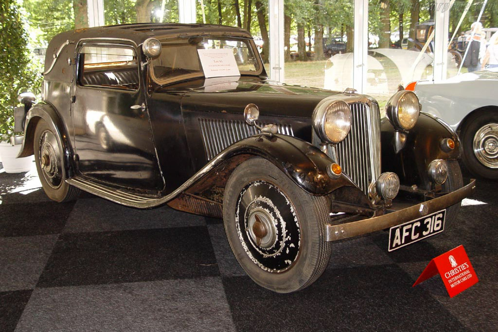 Jaguar SS 2 Series 2 Fixed Head Coupe - Chassis: 300193   - 2003 Concours d'Elegance Paleis 't Loo