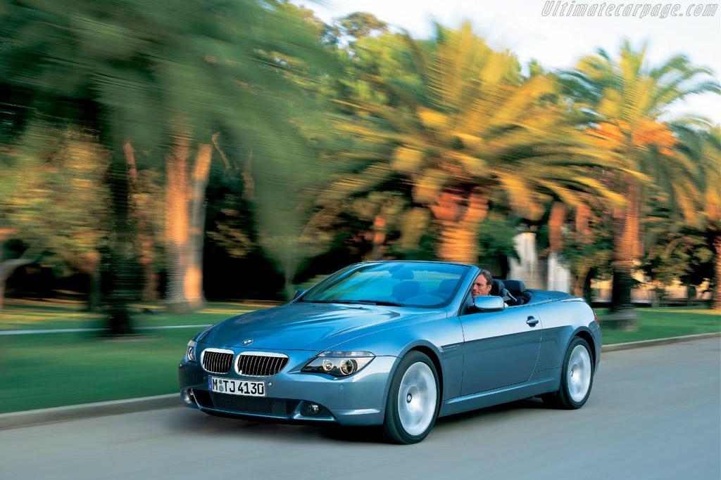 BMW 645 Ci Convertible
